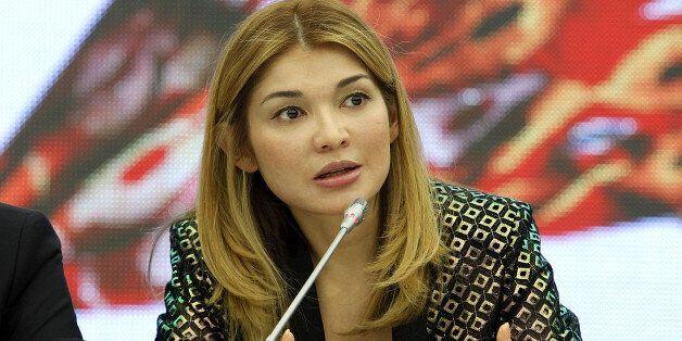 TASHKENT, UZBEKISTAN - OCTOBER 22: H.E.Dr. Gulnara Karimova Chairwoman of the Fund Forum Board of Trustees...