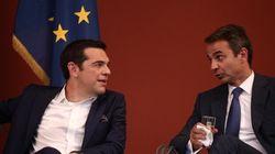 Με γελοιογραφία του Αρκά εύχεται ο Κυριάκος Μητσοτάκης στον Αλέξη Τσίπρα για τα γενέθλιά