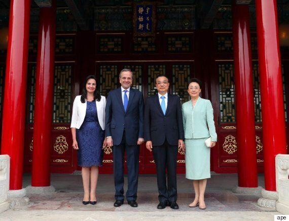 Στο Πεκίνο ο Αντώνης Σαμαράς. Τι συζήτησε με τον πρωθυπουργό της