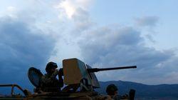 Τουρκικά άρματα μάχης στα σύνορα με τη