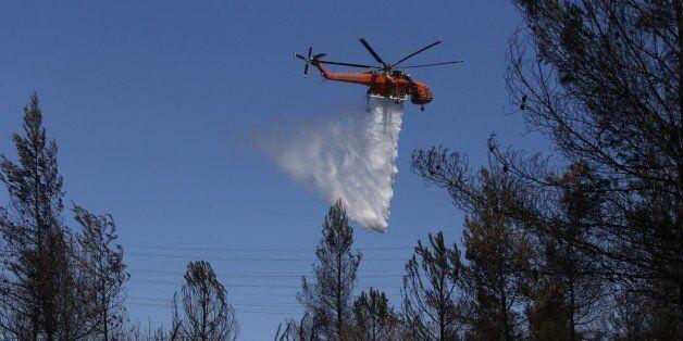 Νέο πύρινο μέτωπο στη Μεσσηνία. 13 οχήματα της Πυροσβεστικής στο
