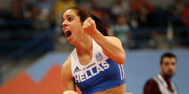 Athletics - European Athletics Indoor Championship - Women's Pole Vault Final - Kombank Arena, Belgrade,...