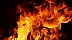 Πυρκαγιά σε αγροτική περιοχή στη Λάρισα. Πυροσβεστικά οχήματα σπεύδουν στο