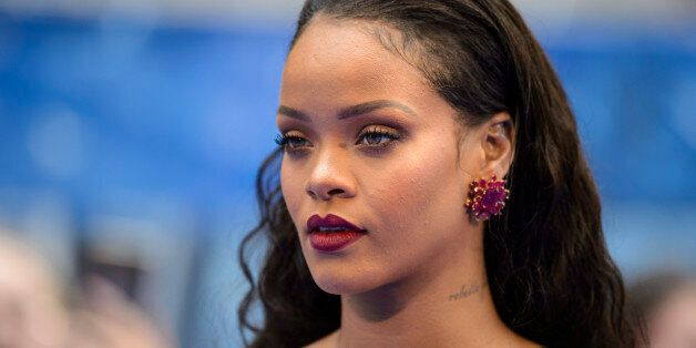Rihanna attending the European premiere of Valerian and the City of a Thousand Planets at Cineworld in...