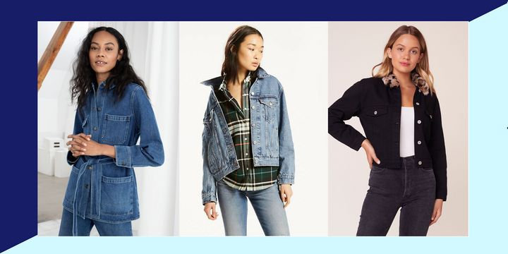 Everything you ever wanted to know about styling a denim jacket for fall.