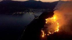 Πυρκαγιά στην Κέρκυρα. Υπό μερικό έλεγχο η φωτιά στη Μεσσηνία, σε ύφεση στη