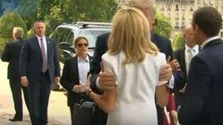 «Είσαι σε τόσο καλή φόρμα»: Το...περίεργο σχόλιο του Τραμπ στην Πρώτη Κυρία της Γαλλίας, Μπριζίτ