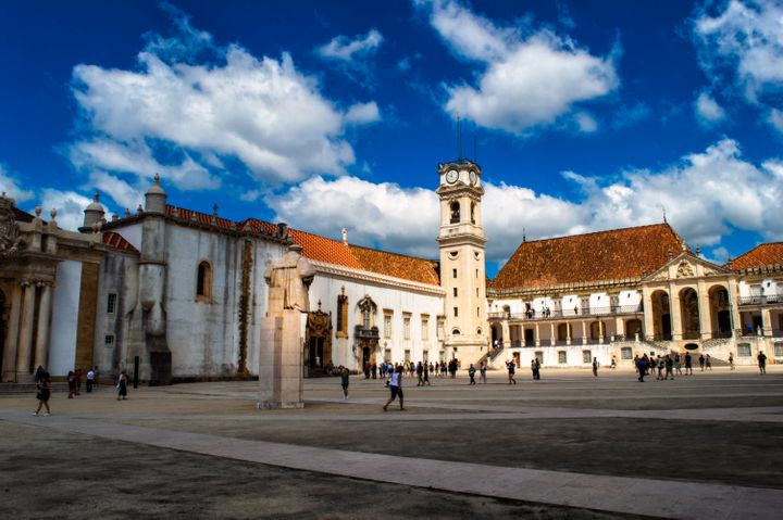 Complexo antigo da Universidade de Coimbra, uma das mais antigas do mundo