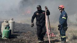 Υπό μερικό έλεγχο η πυρκαγιά στο Ζευγολατιό Κορινθίας. Φωτιά στο Βαθύ της