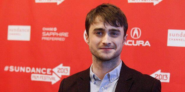 Cast member Daniel Radcliffe poses at the premiere