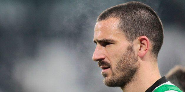 Leonardo Bonucci during the Italian Serie A football match between Juventus and Inter Milan on February...