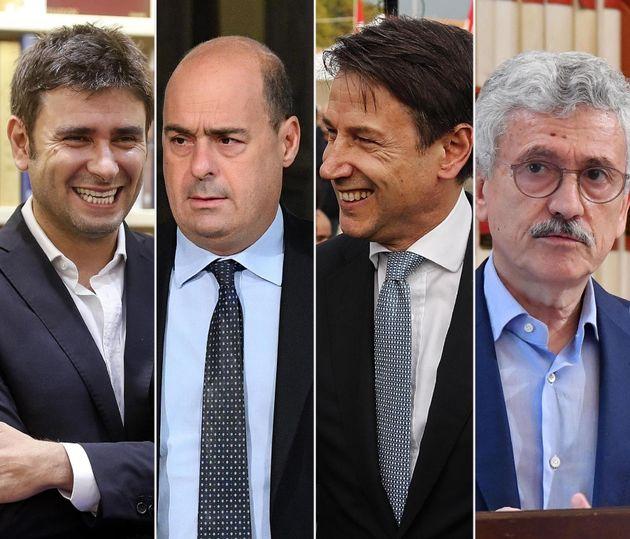 Bi Battista, Zingaretti, Conte,