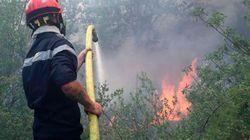 Υπό μερικό έλεγχο η πυρκαγιά κοντά στο