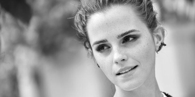 PARIS, FRANCE - JUNE 22:  (EDITORS NOTE: This image has been converted to Black and White.) Emma Watson attends 'The Circle' Paris Photocall at Hotel Le Bristol on June 22, 2017 in Paris, France.  (Photo by Pascal Le Segretain/Getty Images)