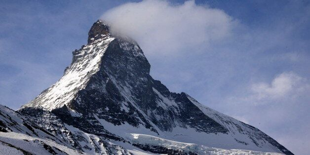 The Matterhorn mountain is pictured in Zermatt, Switzerland, March 15, 2015. The remains of two young...