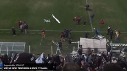 Drone Goal. Πώς η βιντεοσκόπηση ενός ποδοσφαιρικού αγώνα με Drone απέτυχε