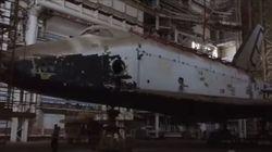 Βίντεο: Το ξεχασμένο σοβιετικό διαστημόπλοιο Buran μέσα σε εγκατελειμμένο υπόστεγο του κοσμοδρομίου του