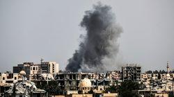 H συριακή αεροπορία έπληξε θέσεις του ΙΚ στη