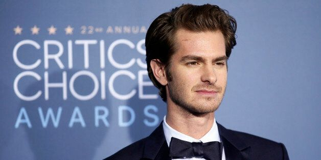 Actor Andrew Garfield arrives at the 22nd Annual Critics' Choice Awards in Santa Monica, California, U.S., December 11, 2016.  REUTERS/Danny Moloshok