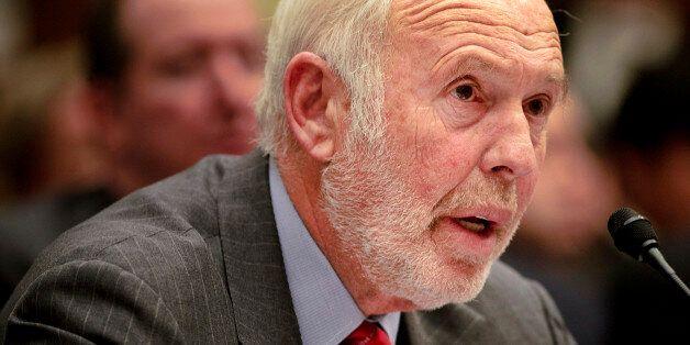 UNITED STATES - NOVEMBER 13: James Simons, director of Renaissance Technologies Corp., testifies during...