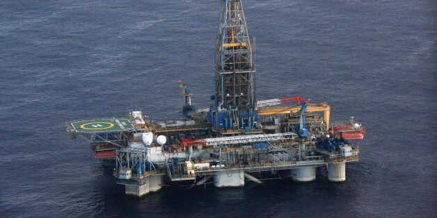 The Homer Ferrington gas drilling rig, operated by Noble Energy and drilling in an offshore block on...