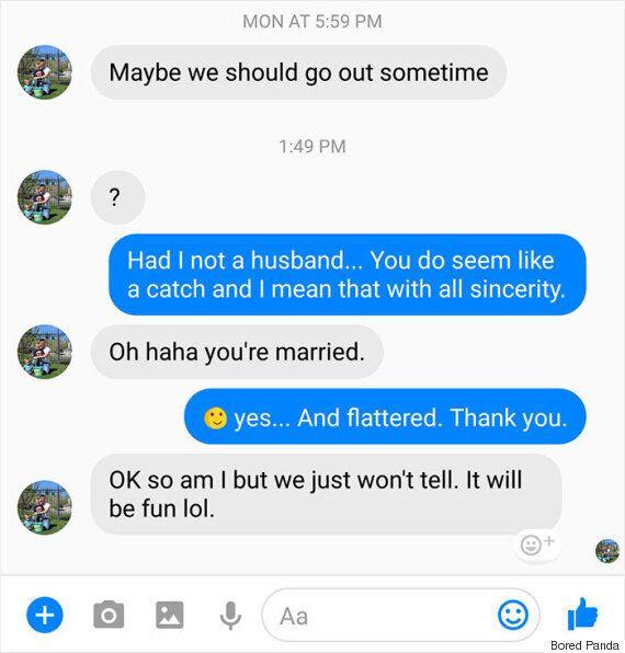Άνδρας που απατά τη σύζυγό του στέλνει μήνυμα σε μία άλλη παντρεμένη γυναίκα και αυτή είναι η απάντησή