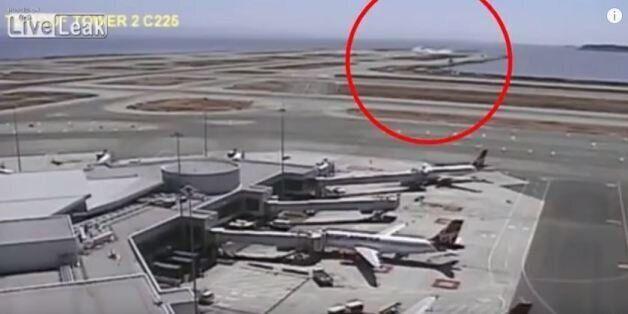 Τρόμος από τον αέρα: Νέο βίντεο από τη συντριβή του αεροπλάνου της Asiana Airlines στο Σαν Φρανσίσκο...