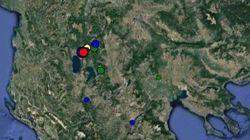 Σεισμός 4,9 Ρίχτερ στα ελληνοσκοπιανά