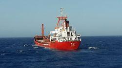 Πυρά κατά τουρκικού φορτηγού πλοίου ανοιχτά της Ρόδου από το