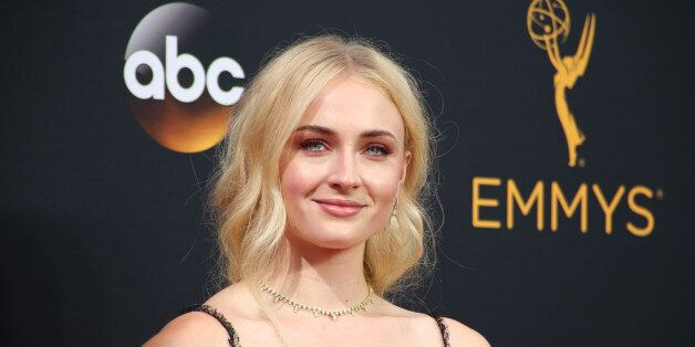 Actress Sophie Turner from the HBO