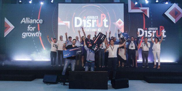 Ολοκληρώθηκε ο διαγωνισμός Disrupt Greece: Ποιοι νικητές