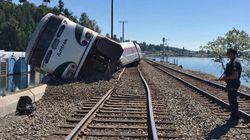 Εκτροχιασμός τρένου στην Πολιτεία της