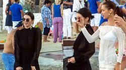 Η Bella Hadid και η Kendall Jenner κάνουν διακοπές στη
