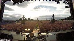 Κάτι υπέροχο συνέβη όσο 65.000 άνθρωποι περίμεναν να δουν τους Green Day