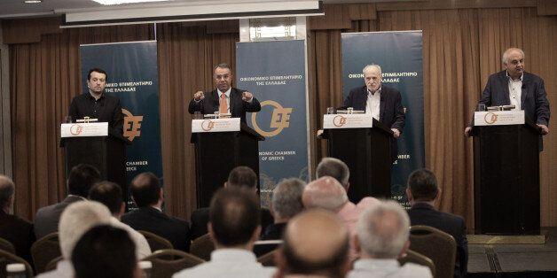 Debate για χρέος και ανάπτυξη οργάνωσε το Οικονομικό επιμελητήριο. Οι απόψεις των