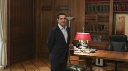 Ξεκινούν οι συναντήσεις Τσίπρα με πρόεδρο της Βουλής και πολιτικούς αρχηγούς. Eurogroup και Κυπριακό στην