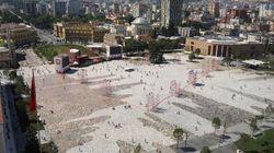 Καταδικάζει το ΥΠΕΞ το αλυτρωτικού χαρακτήρα έργο ανάπλασης της κεντρικής πλατείας