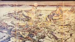 Ο χάρτης της Disneyland που φτιάχτηκε από τα χέρια του ίδιου του Walt Disney έσπασε ρεκόρ σε