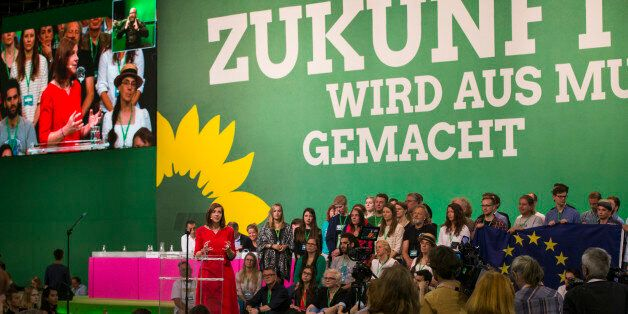 Co-head and leading candidate of the German Green Party (Buendnis 90/Die Gruenen) for the federal elections...