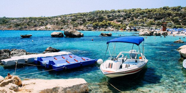 Konnos Bay is at the most Eastern edge of Ayia Napa and is the jewel in the Cape Greco national park....