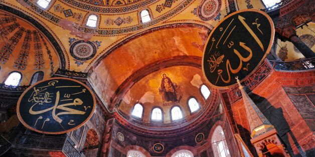 Hagia Sophia (Ayasofya). It is a great architectural beauty and an important monument both for Byzantine...