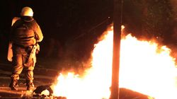 Επιθέσεις με βόμβες μολότοφ κατά αστυνομικών τη νύχτα γύρω από το