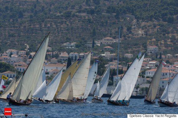 Το Spetses Classic Yacht Regatta 2017 ανέβασε ψηλά τον