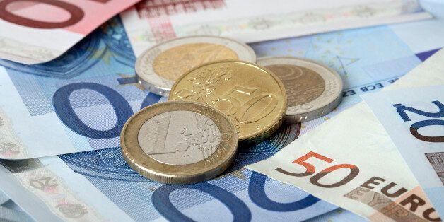 Colorful euro