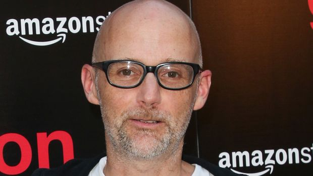 "HOLLYWOOD, CA - JULY 12:  Recording Artist Moby attends the premiere of Amazon Studios' ""Generation Wealth"" at ArcLight Hollywood on July 12, 2018 in Hollywood, California.  (Photo by Paul Archuleta/FilmMagic)"