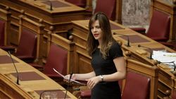 «Εκβιαστικές πρακτικές» για να παγώσει η λειτουργία του ΟΜΕΔ καταγγέλλει η υπουργός Εργασίας Έφη