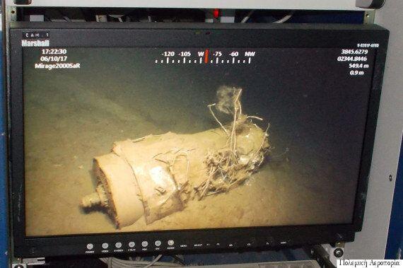 Ανελκύστηκαν το μαύρο κουτί ο κινητήρας και το ουραίο τμήμα του Mirage 2000 που έπεσε βόρεια της