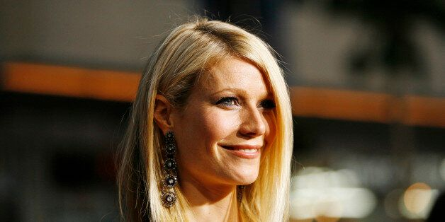 Cast member Gwyneth Paltrow poses at the premiere