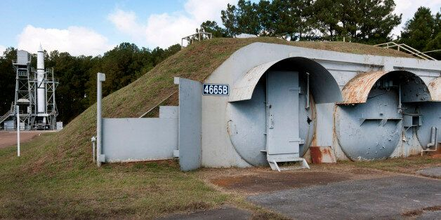 Underground control rooms stand at the test site inside Redstone Arsenal in Huntsville, Alabama, U.S.,...