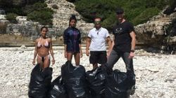 Οι νεκροί γλάροι στους Αντίπαξους έκαναν τη κόρη του Will Smith να καθαρίσει 3 παραλίες του